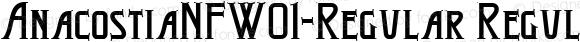 AnacostiaNFW01-Regular Regular Version 1.20