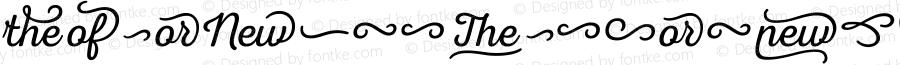 NexaRustExtrasW95-Script Regular Version 1.00