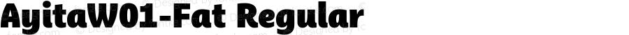 AyitaW01-Fat Regular Version 1.1