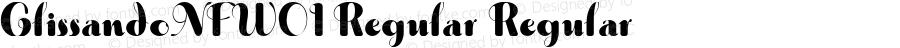 GlissandoNFW01-Regular Regular Version 1.30