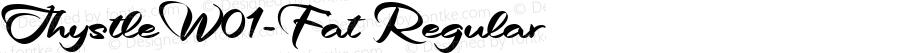 ThystleW01-Fat Regular Version 1.1