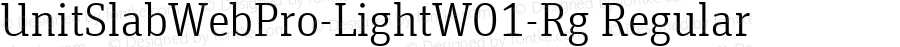 UnitSlabWebPro-LightW01-Rg Regular Version 7.504
