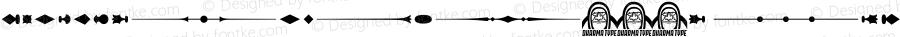 GothicExtrasW95-E Regular Version 1.00