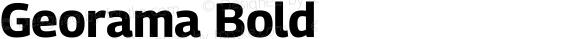Georama Bold