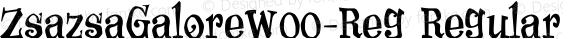 ZsazsaGaloreW00-Reg Regular Version 1.00