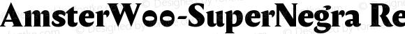 AmsterW00-SuperNegra Regular Version 1.00
