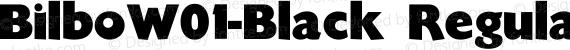 BilboW01-Black Regular preview image