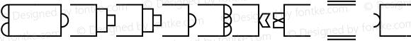 PassageW95-Borders Regular Version 1.1
