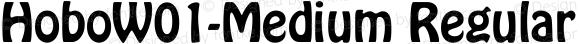 HoboW01-Medium Regular Version 2.02