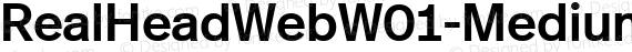 RealHeadWebW01-Medium Regular preview image