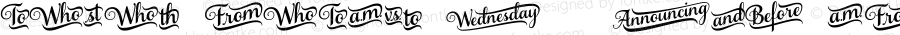 SamanthaScrptW95-BdCtchWrd Regular Version 1.00
