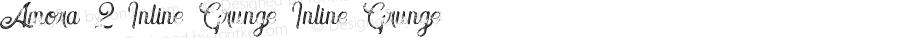 Amora 2 Inline Grunge Inline Grunge Version 1.000