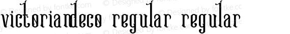 Victoriandeco Regular Regular preview image