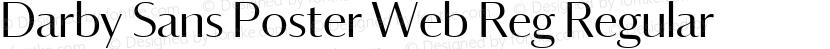 Darby Sans Poster Web Reg Regular Preview Image