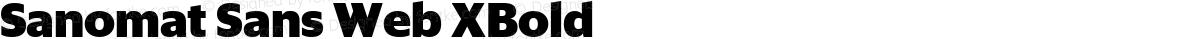 Sanomat Sans Web XBold