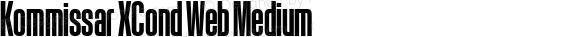 Kommissar XCond Web Medium