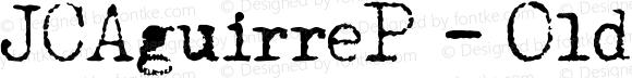 JCAguirreP - Old Type Regular Unknown