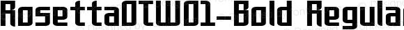 Rosetta OT W01 Bold