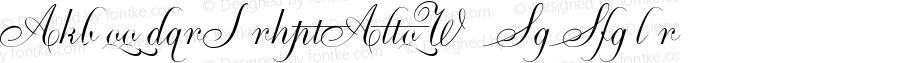 AmbassadorScriptAltsW90-Rg Regular Version 1.00