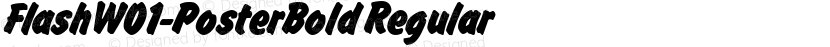 FlashW01-PosterBold Regular Preview Image