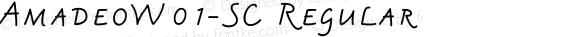 AmadeoW01-SC Regular Version 1.1