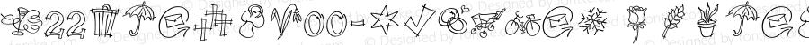 P22TuldaW00-Symbols Regular Version 1.00
