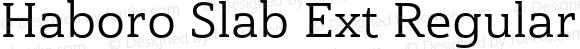 Haboro Slab Ext Regular Ext Regular
