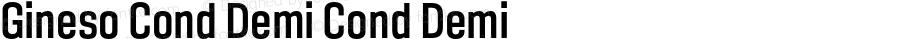 Gineso Cond Demi Cond Demi Version 1.000