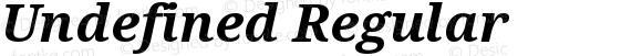 Undefined Regular