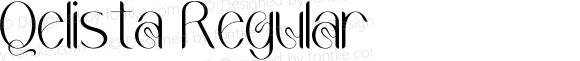 Qelista Regular
