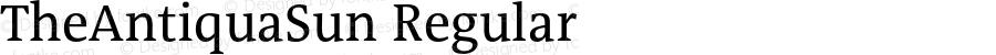 TheAntiquaSun Regular 001.001