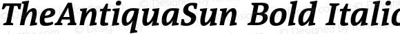 TheAntiquaSun Bold Italic 001.001