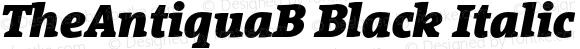 TheAntiquaB Black Italic 001.000