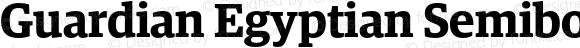 Guardian Egyptian Semibold