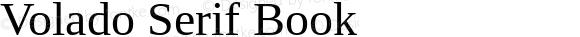 Volado Serif Book