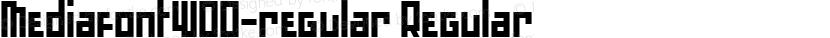 MediafontW00-regular Regular Preview Image