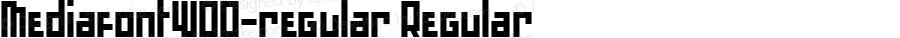 MediafontW00-regular Regular Version 1.00