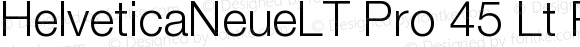 HelveticaNeueLTPro-Lt