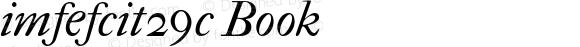imfefcit29c Book