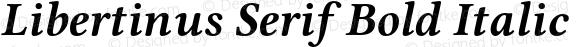 Libertinus Serif Bold Italic