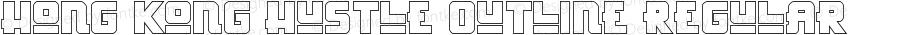 Hong Kong Hustle Outline Regular Version 1.1; 2016