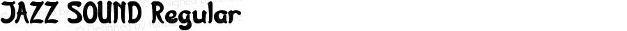 JAZZ SOUND Regular Version 1.00 July 14, 2016, initial release