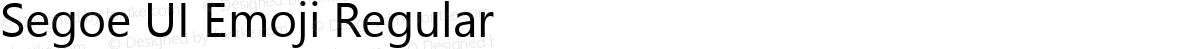 Segoe UI Emoji Regular