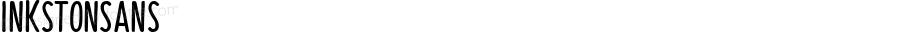 InkstonSans ☞ Version 1.000;PS 001.000;hotconv 1.0.88;makeotf.lib2.5.64775;com.myfonts.easy.fenotype.inkston.sans.wfkit2.version.4BNy