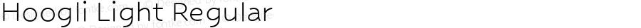 Hoogli Light Regular Version 1.000;PS 001.000;hotconv 1.0.88;makeotf.lib2.5.64775