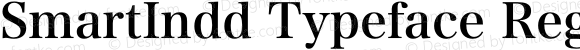 SmartIndd Typeface Regular