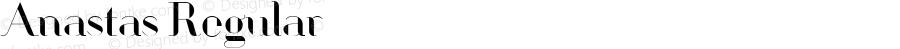 Anastas Regular Version 1.000
