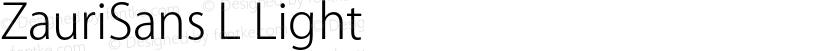 ZauriSans L Light Preview Image
