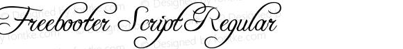 Freebooter Script Regular