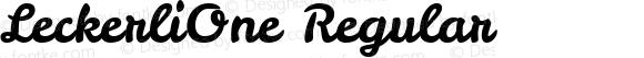 LeckerliOne Regular
